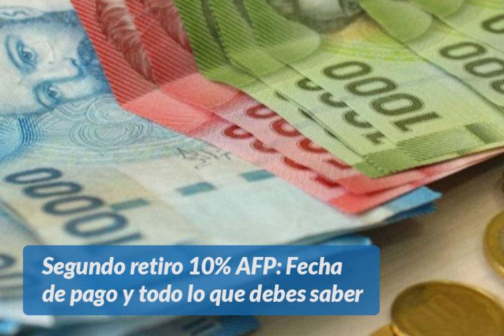 Segundo retiro 10% AFP Fecha de pago y todo lo que debes saber