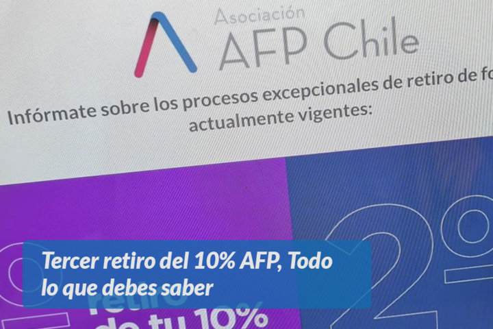 Tercer retiro del 10% AFP, Todo lo que debes saber