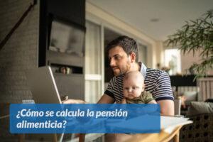 Cómo se calcula la pensión alimenticia